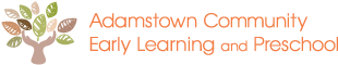 Adamstown Community Early Learning & Preschool Logo